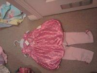 Bnwt pink puffball outfit.jpg
